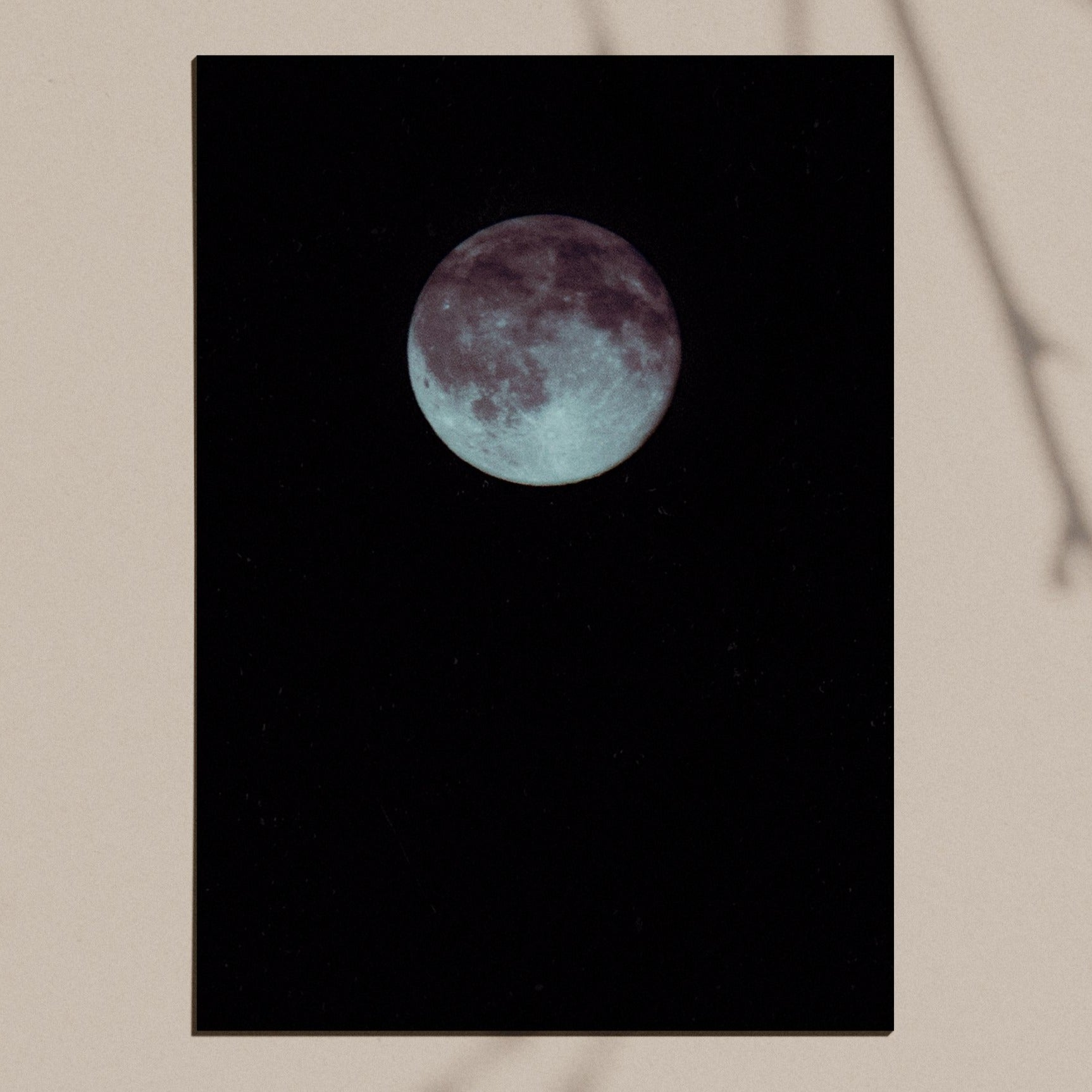 Lunar archival giclee print
