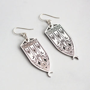 Mini Cathedral Earrings