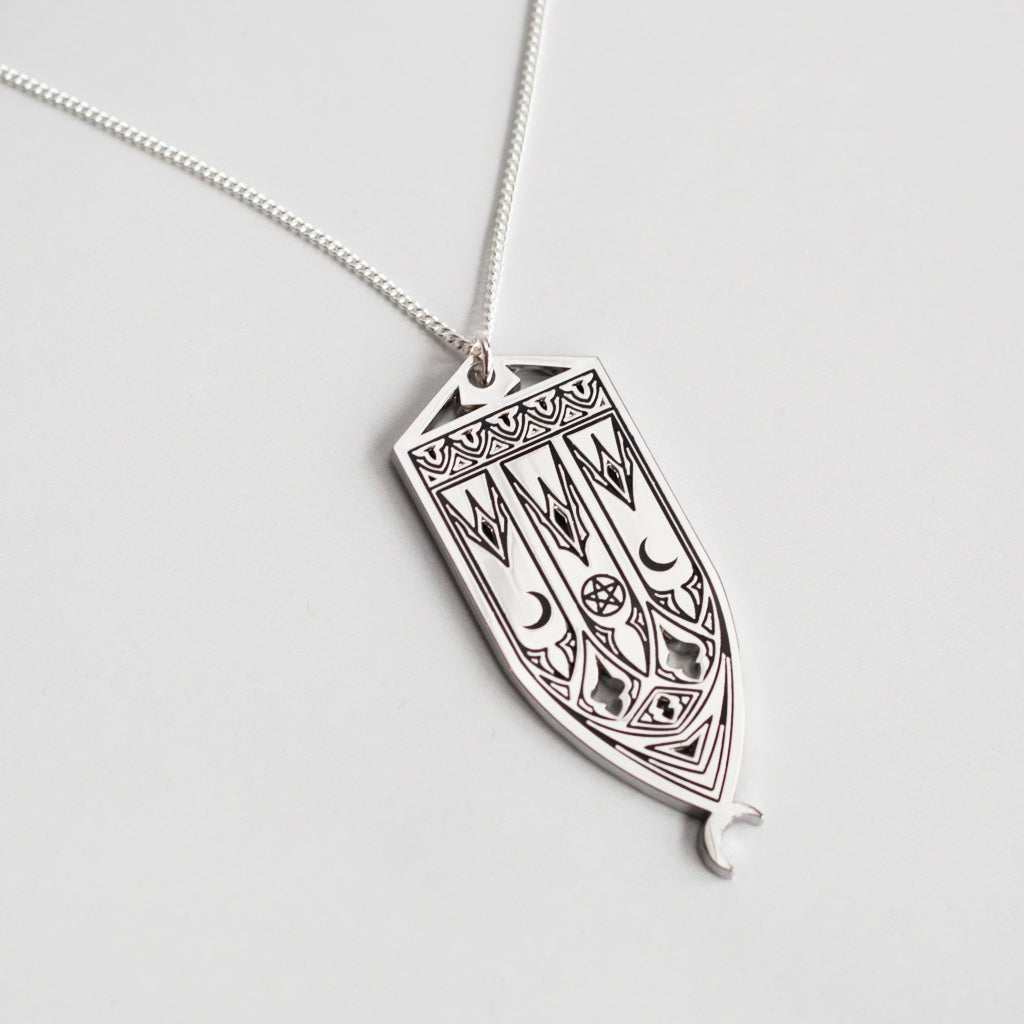 Mini Cathedral Necklace
