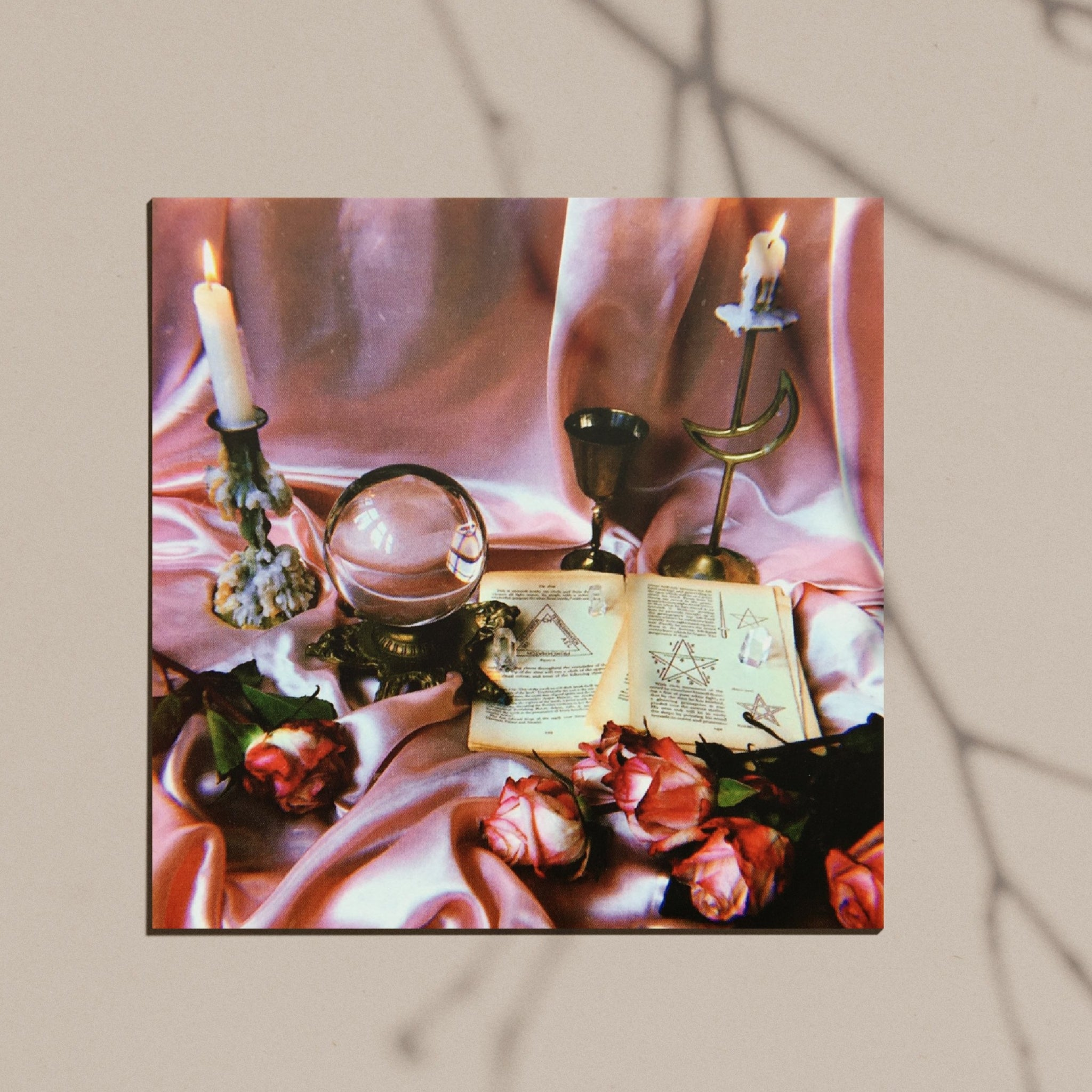Rose Altar Luxe Postcard Print