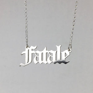 Fatale Necklace *READY TO SHIP*