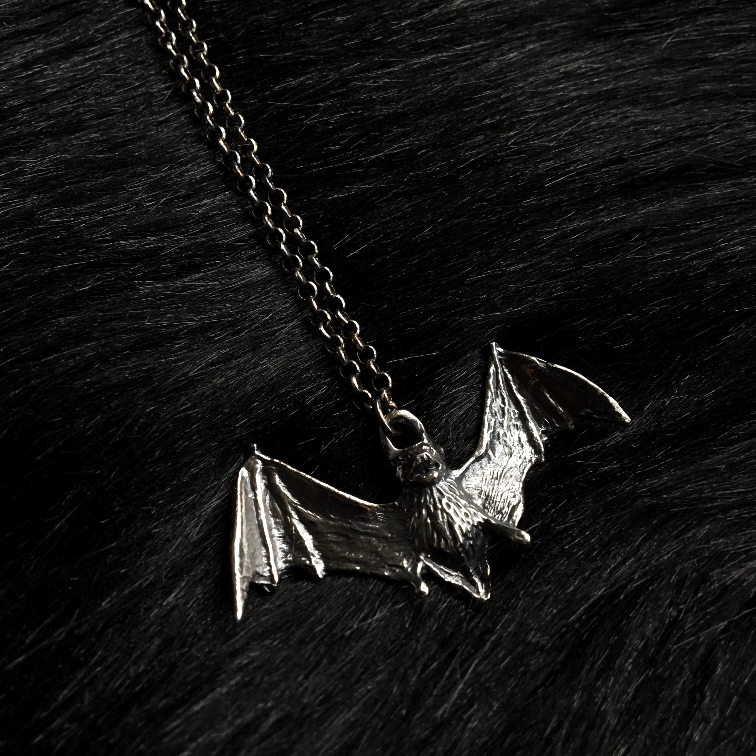 Bat Necklace - Ready To Ship