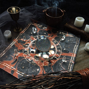 Limited Edition ✦ HALLOWEEN MARBLED ✦ Altar Cloths