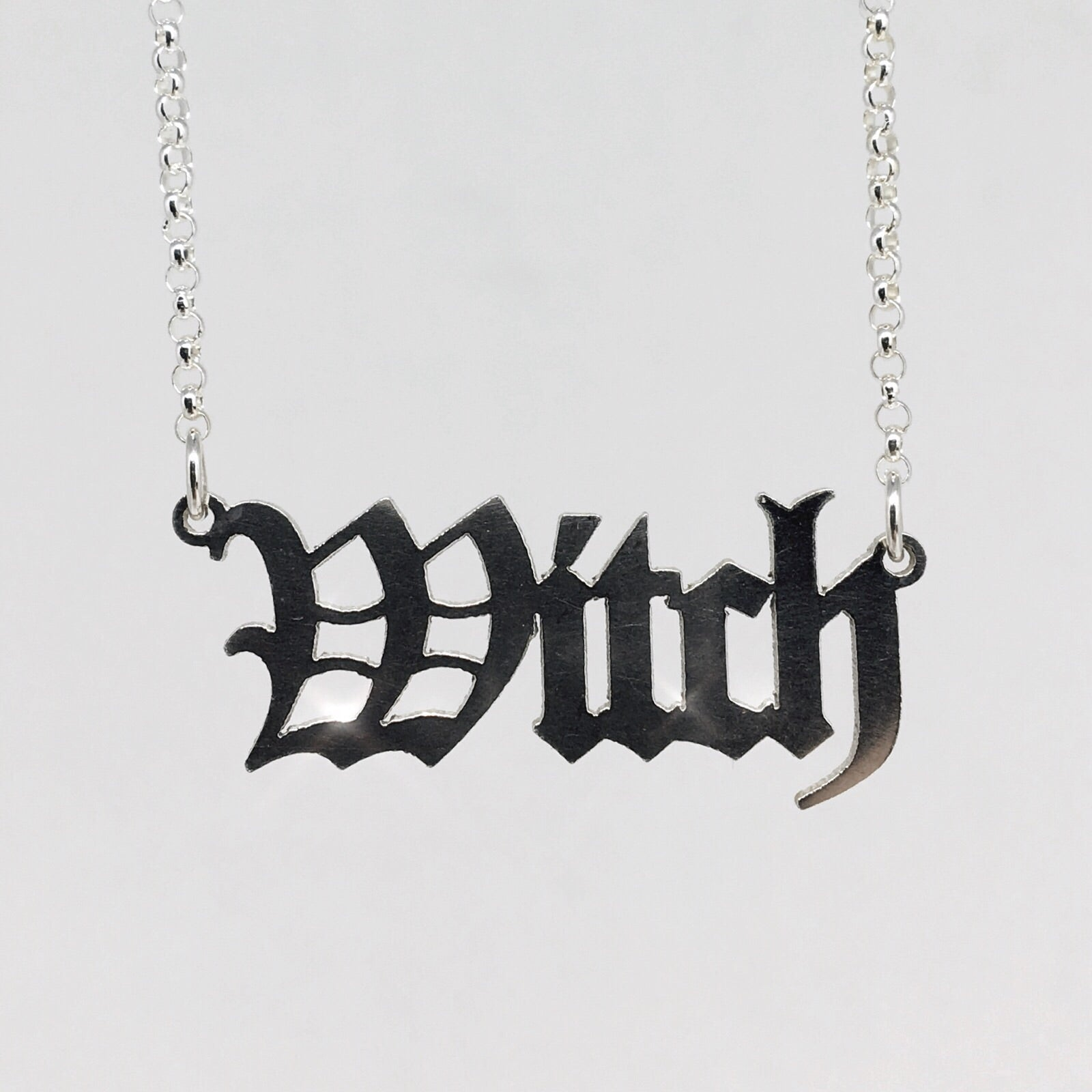 Witch Necklace *READY TO SHIP*