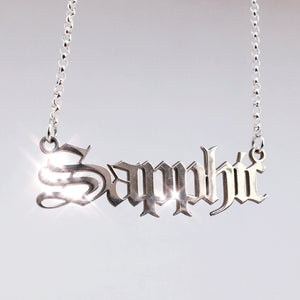 Sapphic Necklace