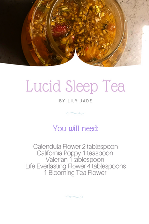 LUCID SLEEP TEA