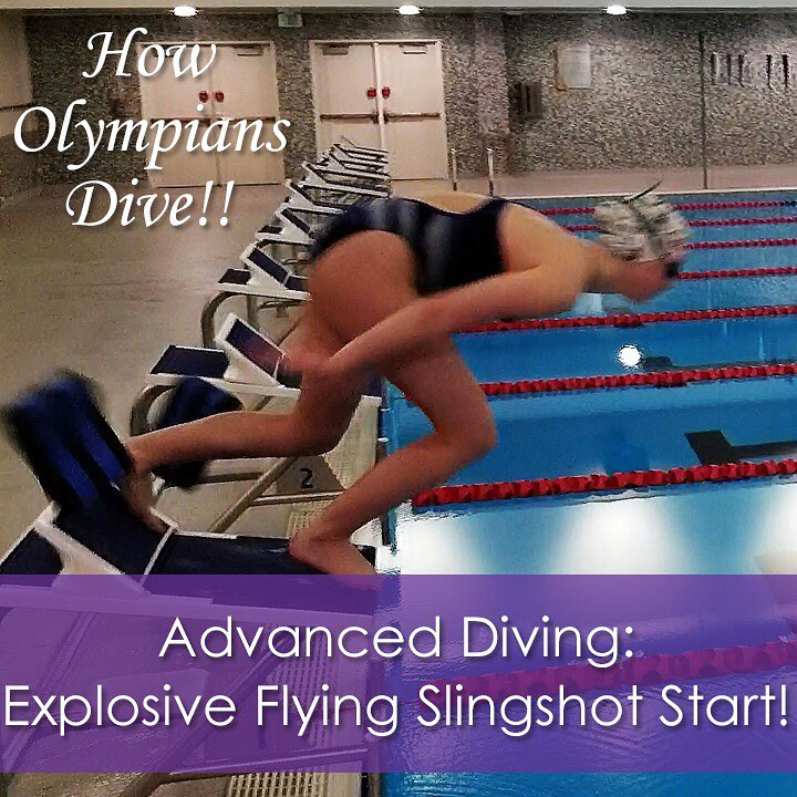 Diving How-To: Explosive Flying Slingshot Start Drill! | How to Dive Like an Olympian!! - SwimLifeGuru