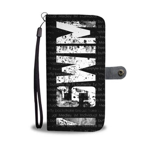 I SWIM Wallet Cell Phone Case
