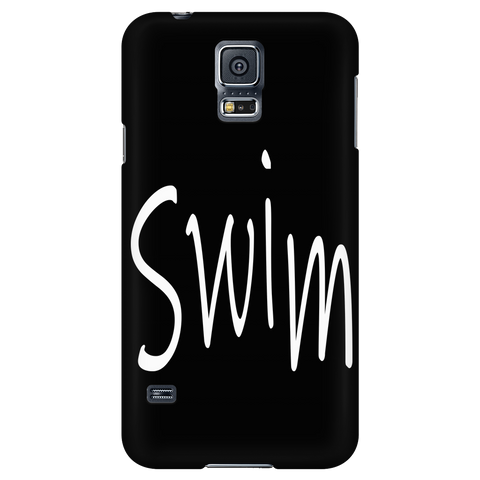 Swim Scribble cell phone case