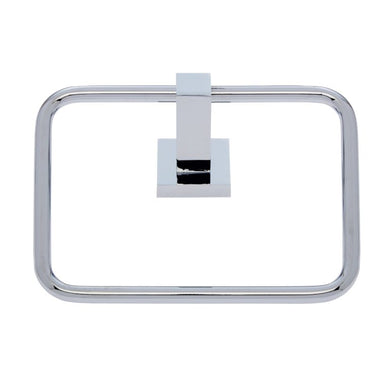 Milan Polish Chrome Towel Ring - #20906