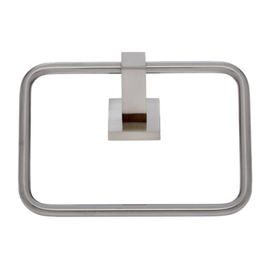 Milan Satin Nickel Towel Ring - #21006