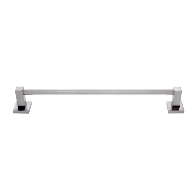 Milan 18 Inch Satin Nickel Towel Bar - #21018