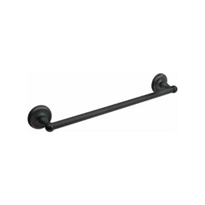 Rubbed Bronze 24-inch Towel Bar