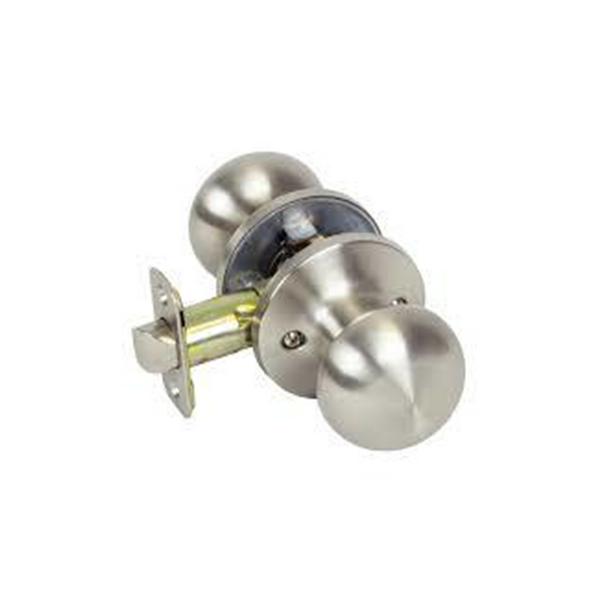 Mushroom Passage, Satin Nickel (BRISTOL)