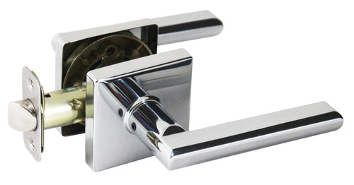 Onyx Lever Privacy - Polish Chrome