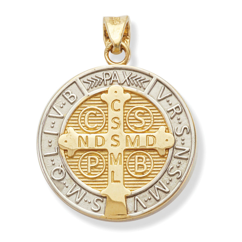 St. Benedict Medal 14K Gold 17.5MM