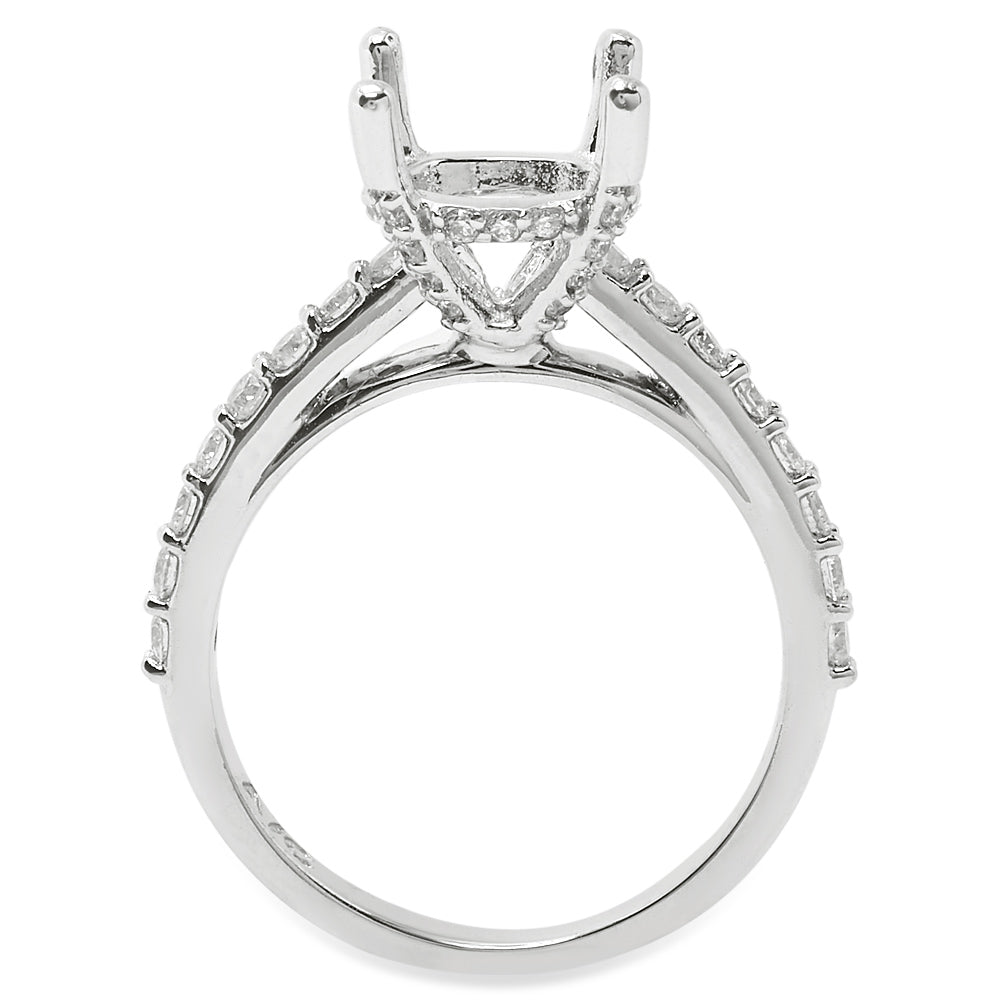 The Bella Diamond Semi-Mount Setting