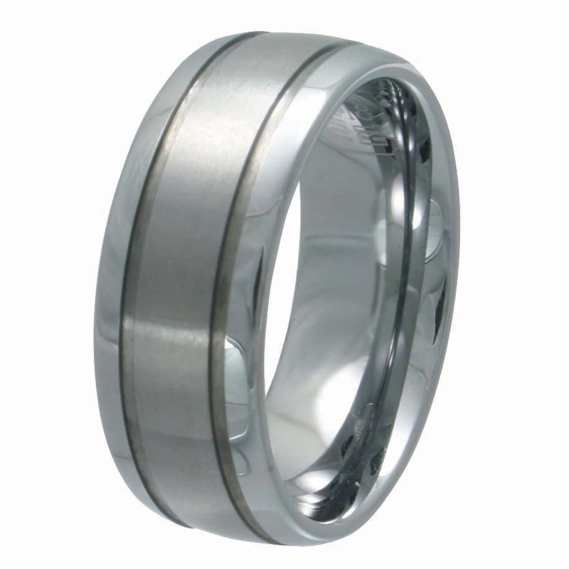 Men's Tungsten Carbide 9mm Wedding Band