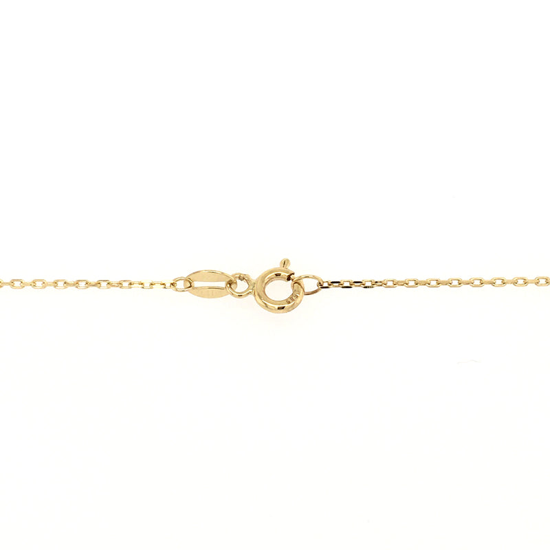 Four-Way Medal Rosary Style Pearl Necklace 14 Karat Yellow Gold (Back In Stock!)