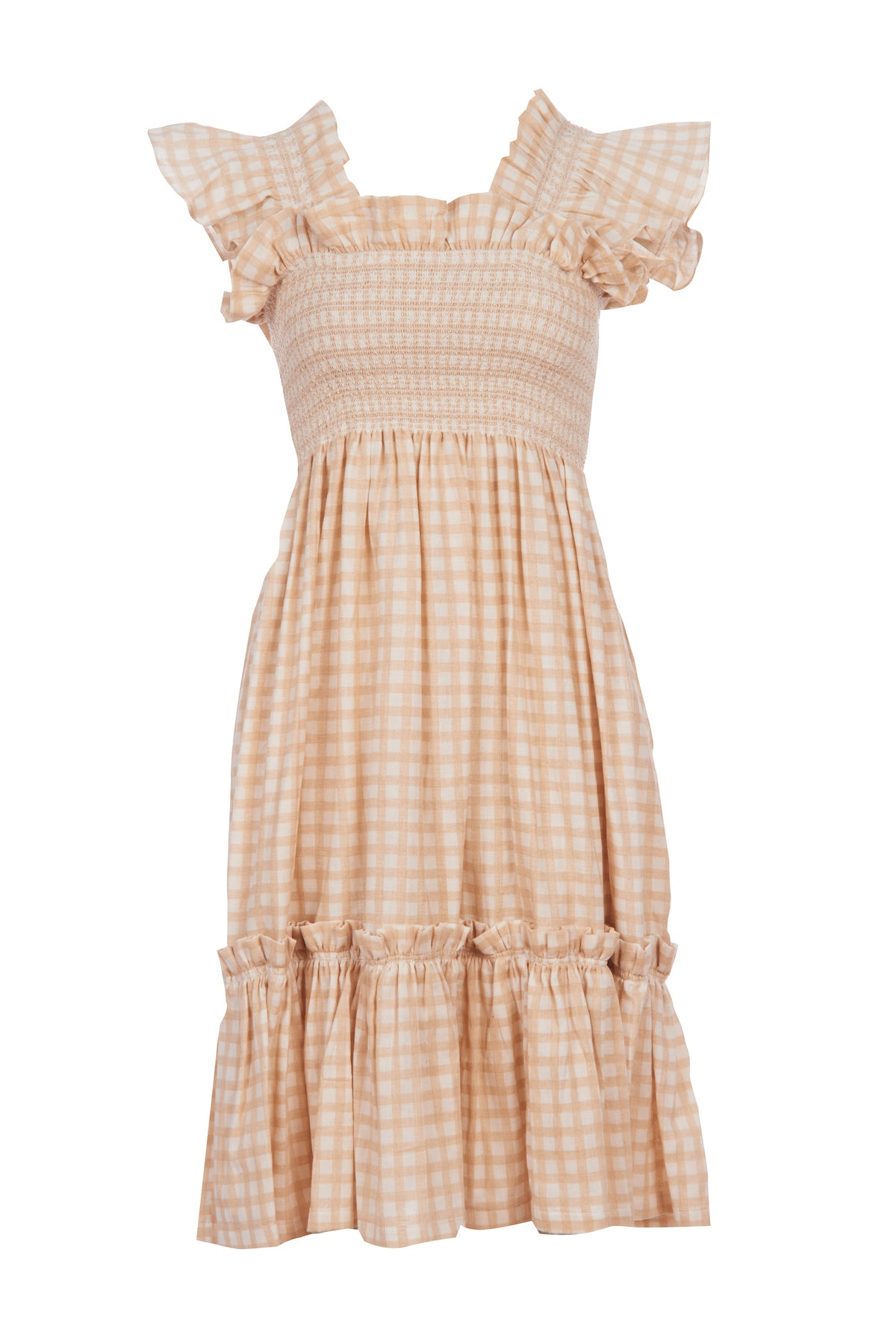 Beige Queenie Dress