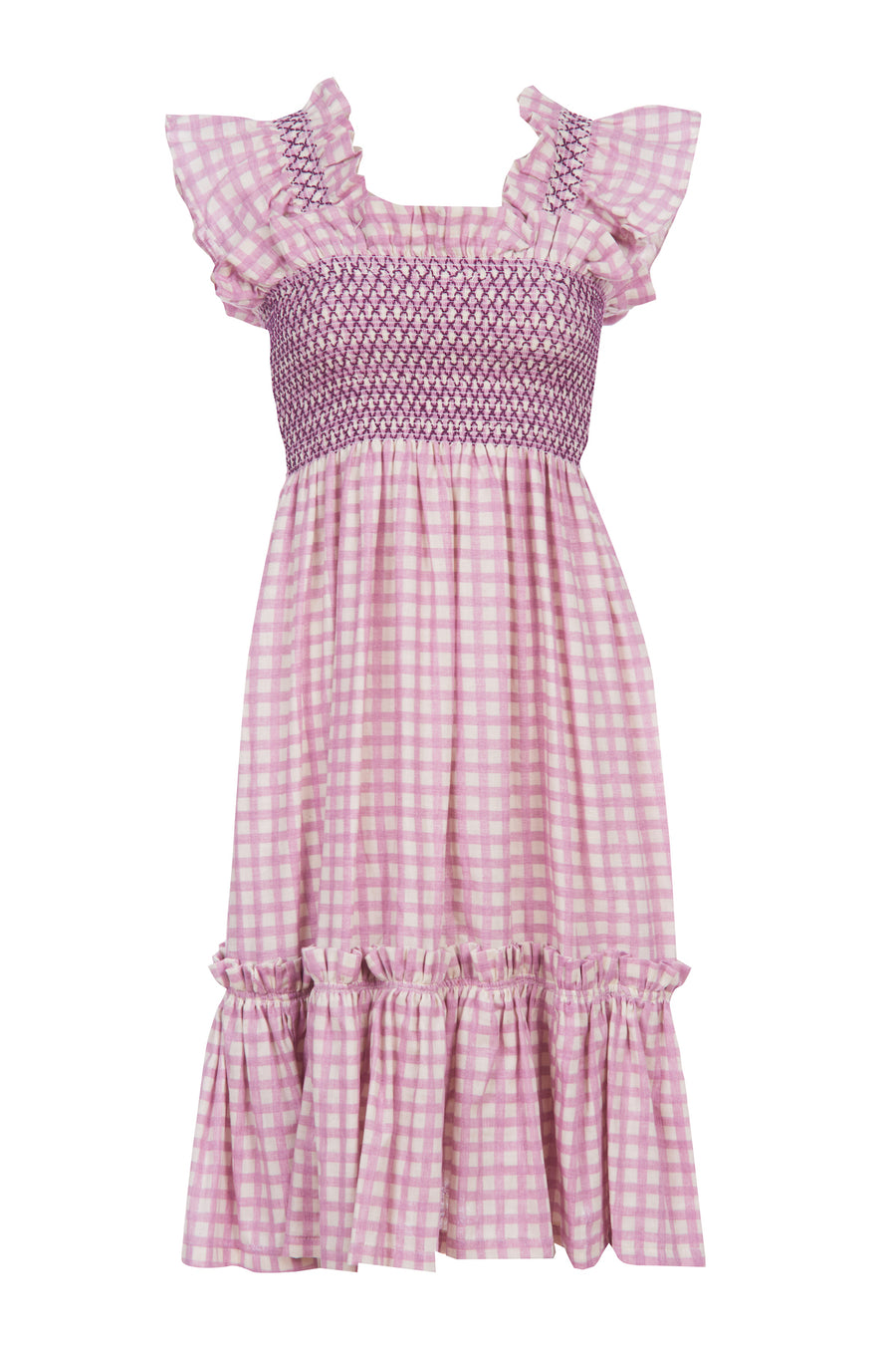 LAVENDER QUEENIE DRESS