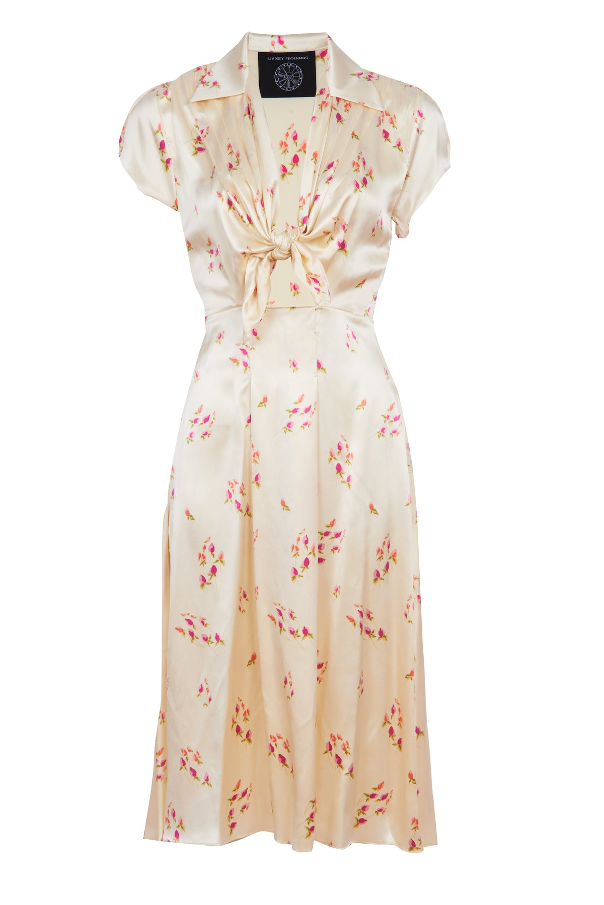 White Tea Rose Clark Dress