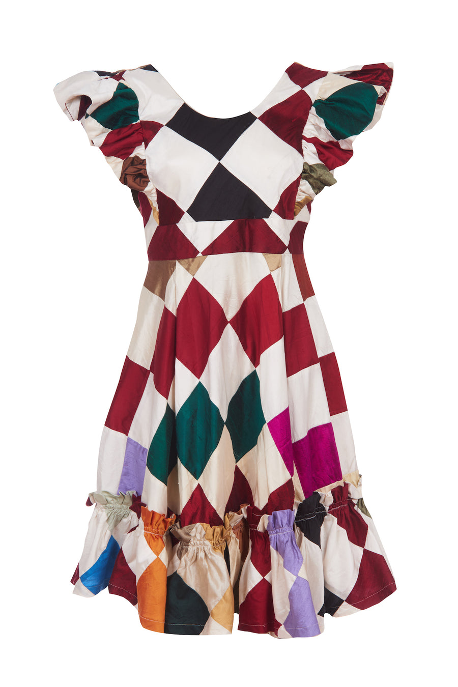 HARLEQUIN QUINOA DRESS