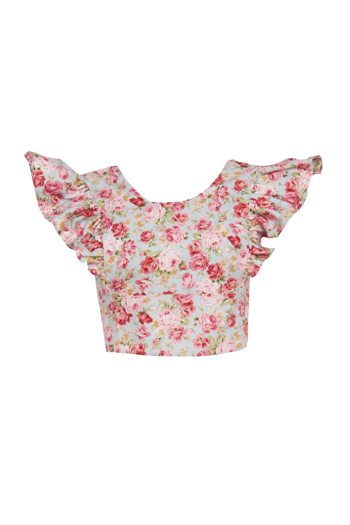 Blue Rose Cotton Quinoa Top