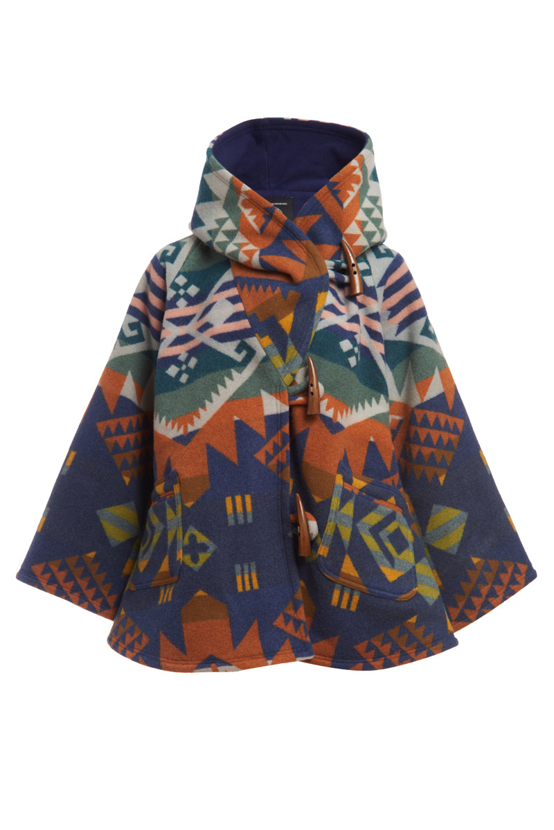 Journey West Blue Classic Cloak