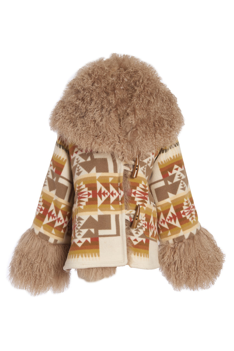 Chief Joseph Shearling Cloak