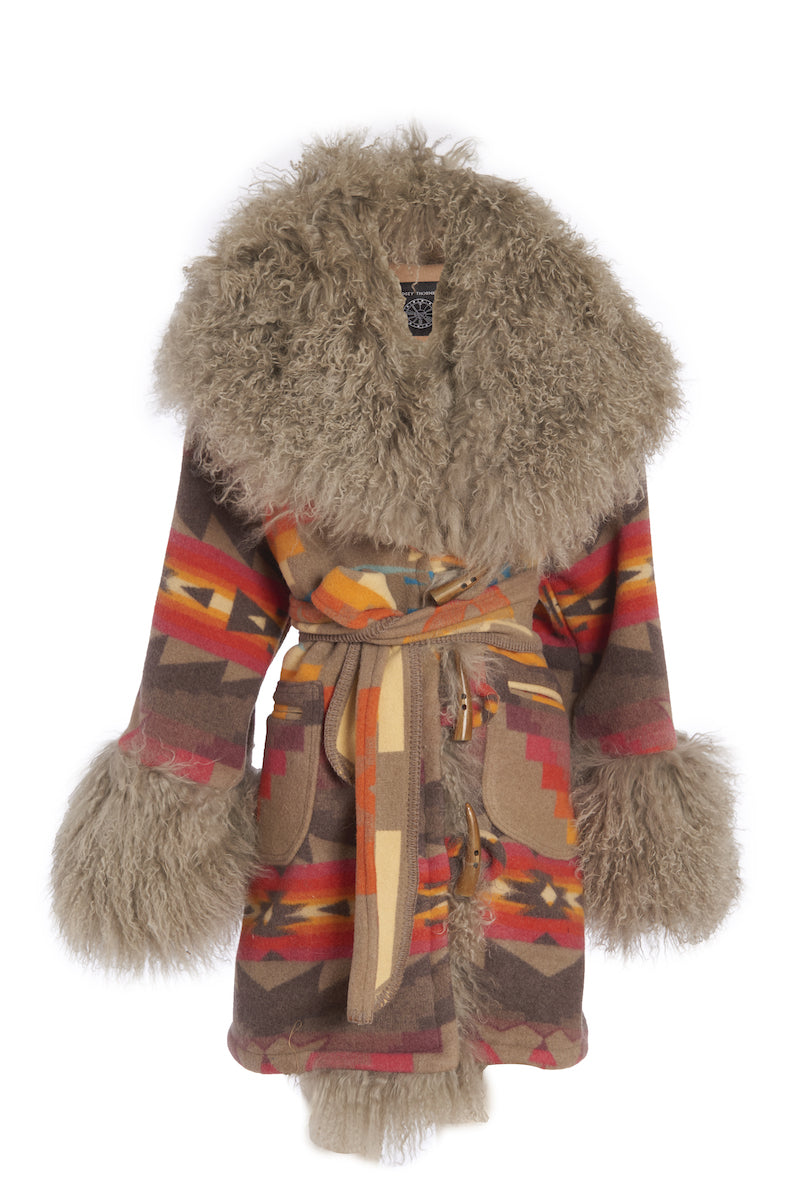Sierra Ridge Shearling Robe