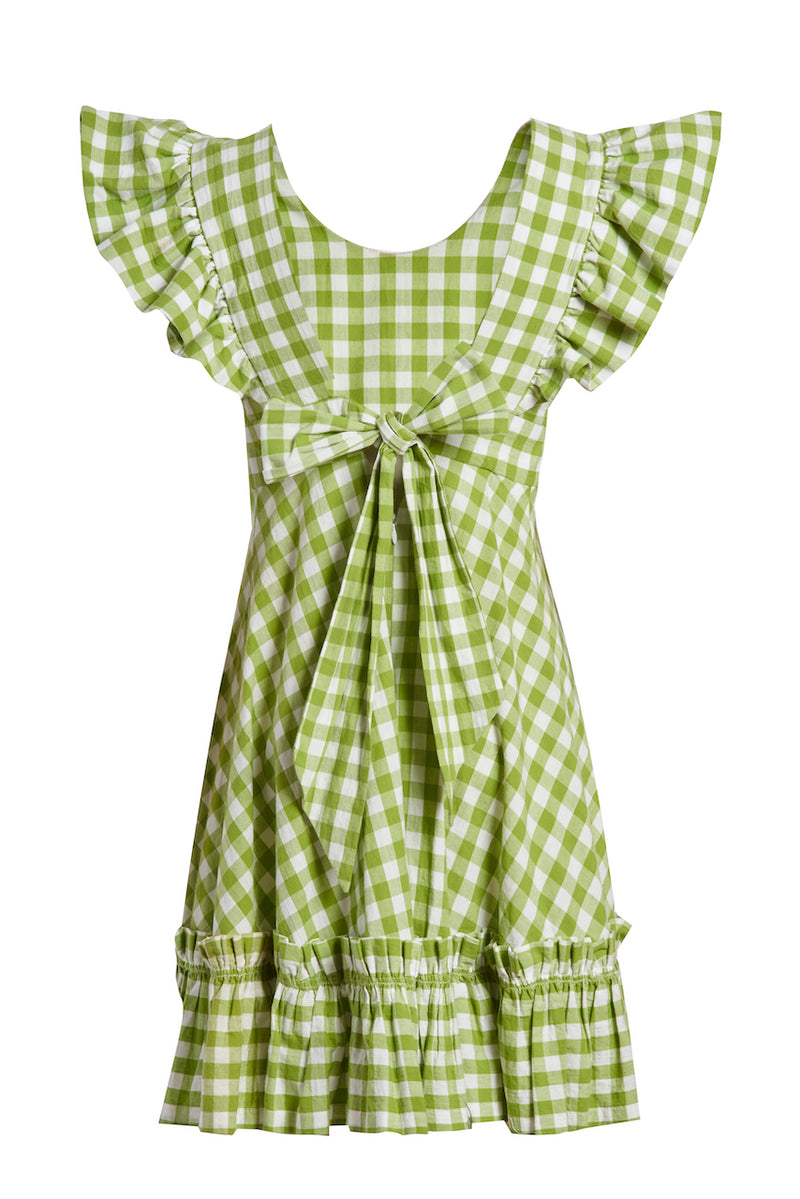Quinoa Dress GRANNY APPLE GINGHAM