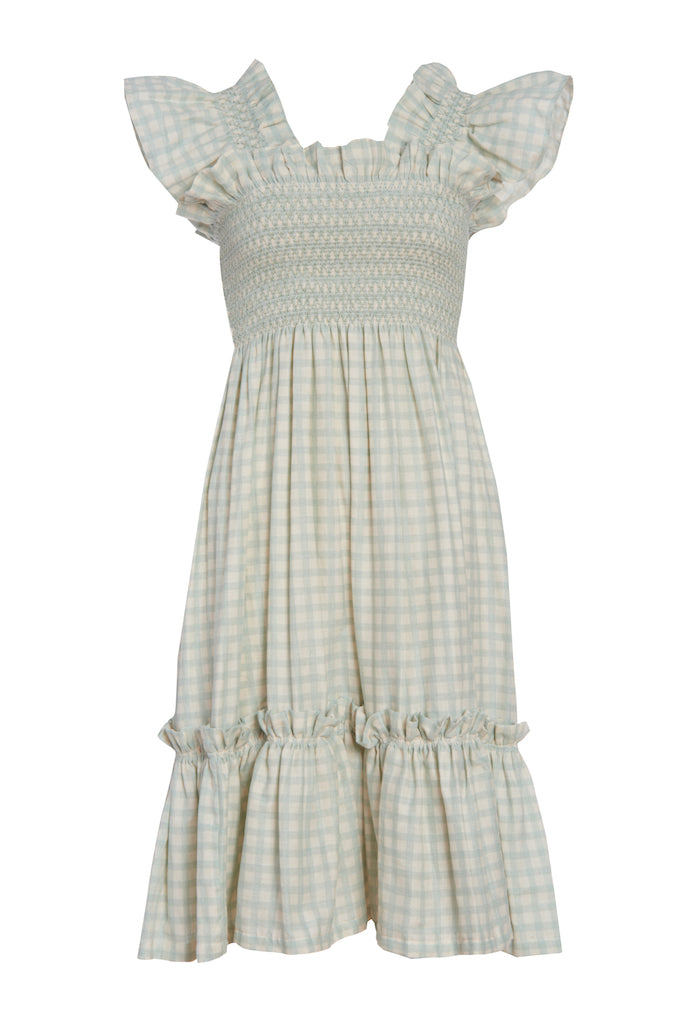 Light Blue Queenie Dress