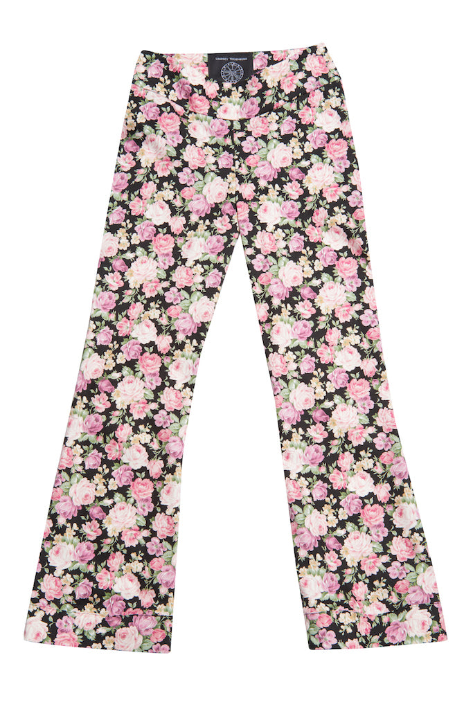 Iggy Pant in Black Rose