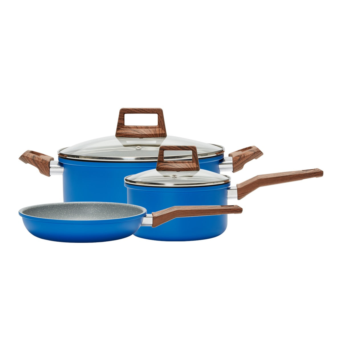 5 PC Cookware Set- BLUE