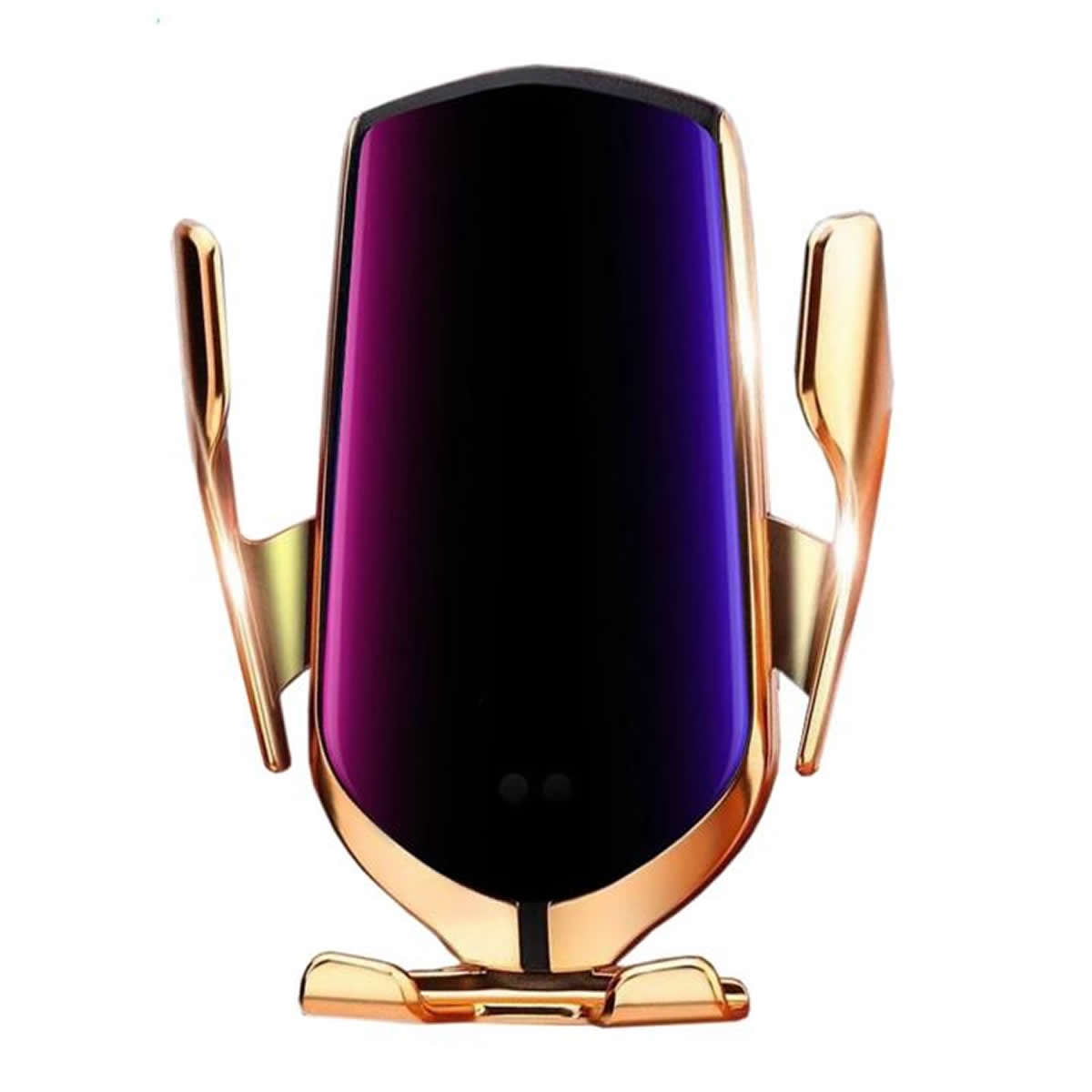 Penguin Wireless Car Charger and Dock For Smart Phones - Gold