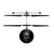 Marvel Avengers Black Panther IR UFO Ball Helicopter