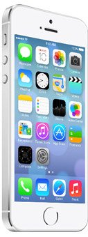 iPhone 5S - Unlocked - 16GB - Silver - Grade A