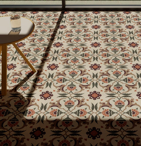 Anatolia Patterned Cement Tile
