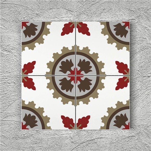 Patterned Ceramic Tiles 01 - decorti