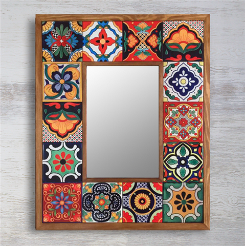 Handmade Mirror 7 - decorti