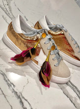 Load image into Gallery viewer, Goose Sneakers - Rose Gold
