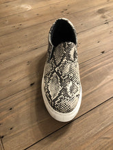 Load image into Gallery viewer, Snakeskin Sneaker Slides