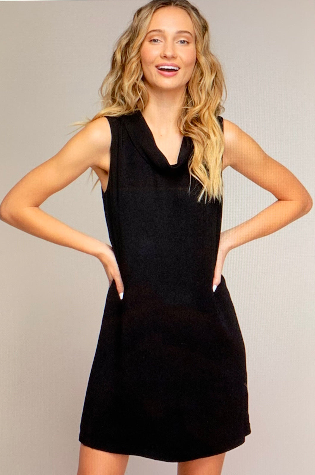 Jackie O Dress in Black