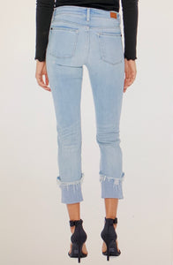 Jaylyn Relaxed Fit Cuff Jeans