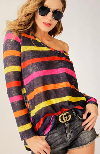 Charlie Stripe Shirt
