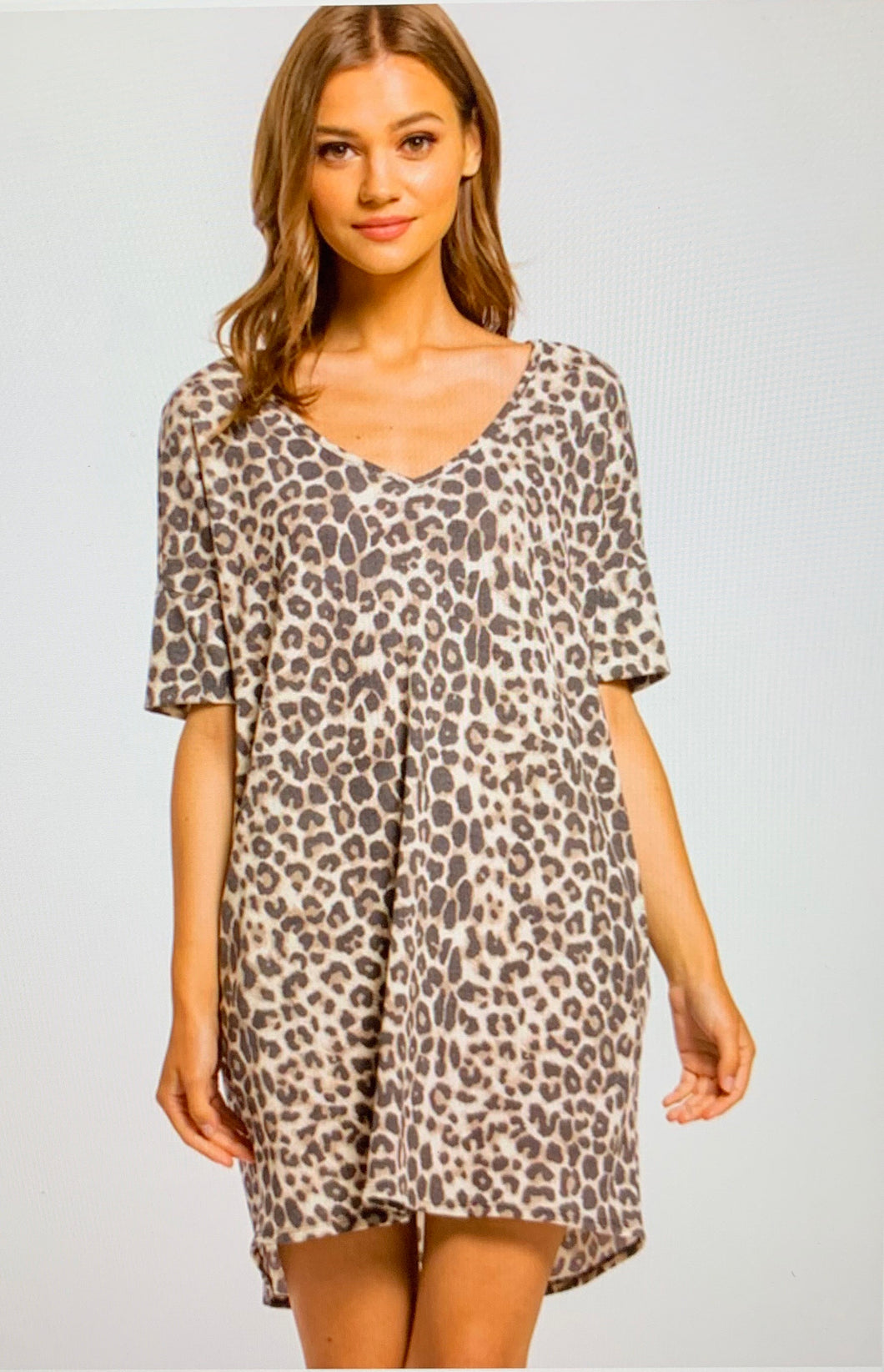 Hayley Animal Print Dress