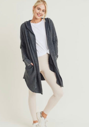 Stacie Hooded Cardigan