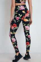 Load image into Gallery viewer, Rose Crush Leggings