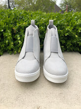 Load image into Gallery viewer, Wedge Maggie Sneakers in Grey